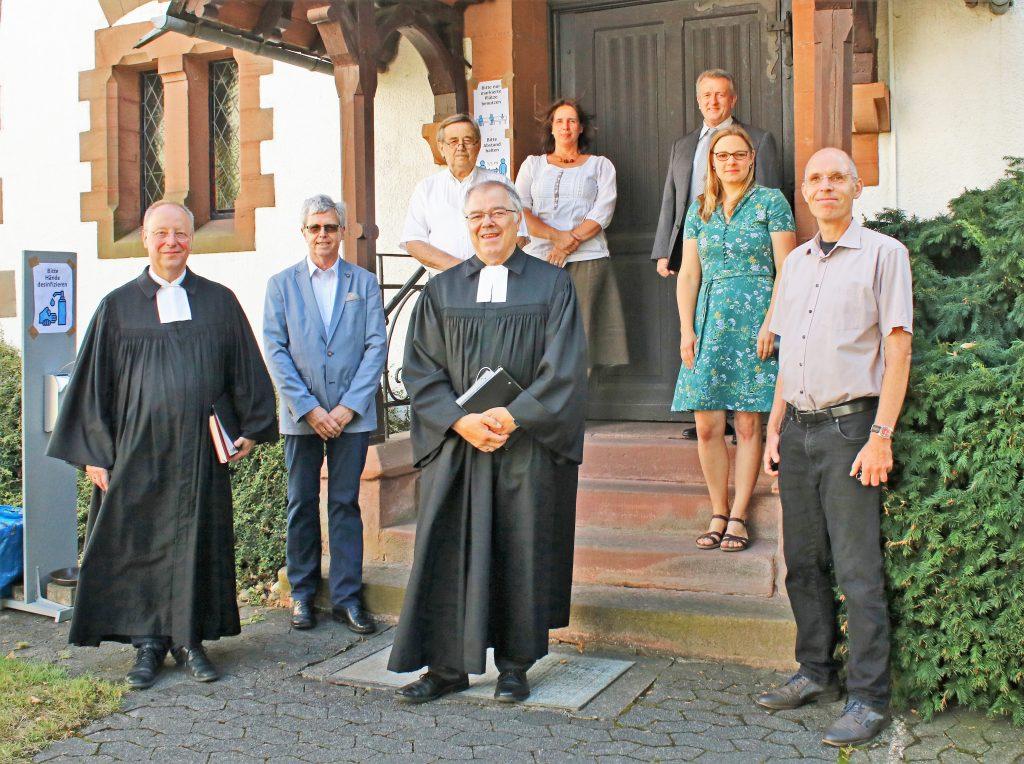 Verabschiedungs Gottesdienst von Pfarrer Horst Daniel