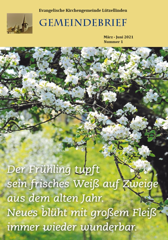 Ausgabe: März-Juni 2021